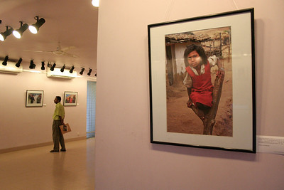 """Below the Poverty Line"" photography exhibition of Suchit Nanda's images held from 25th to 30th September, 2007 at the Drik Gallery, Dhaka. The exhibition was part of a series of activities carried out under UNESCO's Artist in Development Programme funded by the Norwegian Ministry of Foreign Affairs (Norwegian Embassy). Suchit is a majority world photographer and regularly contributes to http://www.majorityworld.com/"