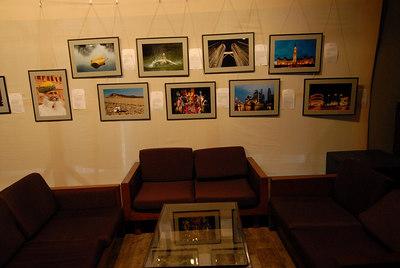 Pictures of Suchit Nanda exhibited at Rodas Hotel, Powai, Mumbai, India.