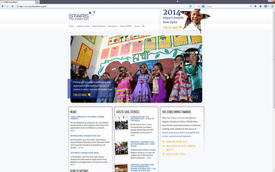 Stars Foundation's awards programmes support strong local civil society organisations responding to the needs of underserved children.  We reward effective, well-managed local organisations for their past work, shining a deserving spotlight on their success and providing support that lets them steer, sustain or scale their work on their own terms. http://www.starsfoundation.org.uk/