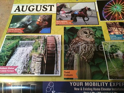 2016 Northern Va Daily Newspaper calendar August