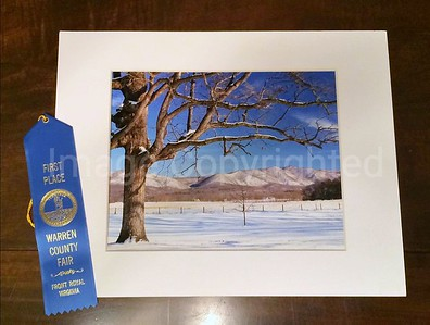 Warren county Va fair 2015 - Color winter scene