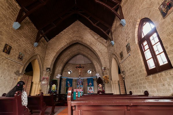 Inside St. John's Church