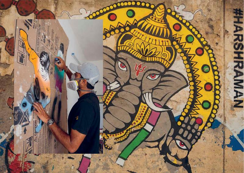 Majestic Disorder Issue 7, Harsh Raman, New Delhi Street Art