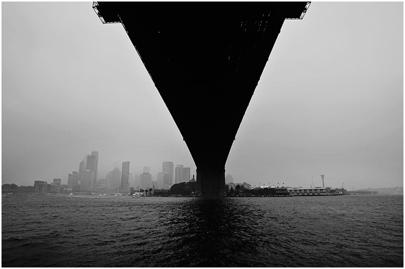 Photo Friday Challenge 22nd December 2006: Weather.<br /> <br /> Sydney Harbour Bridge.