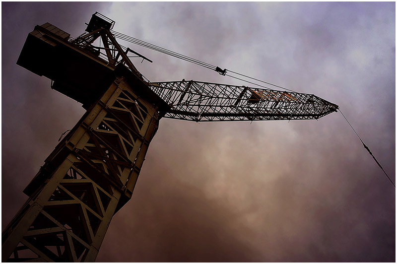 Photo Friday Challenge: Technology. <br /> 18th March 2006<br /> <br /> Crane.