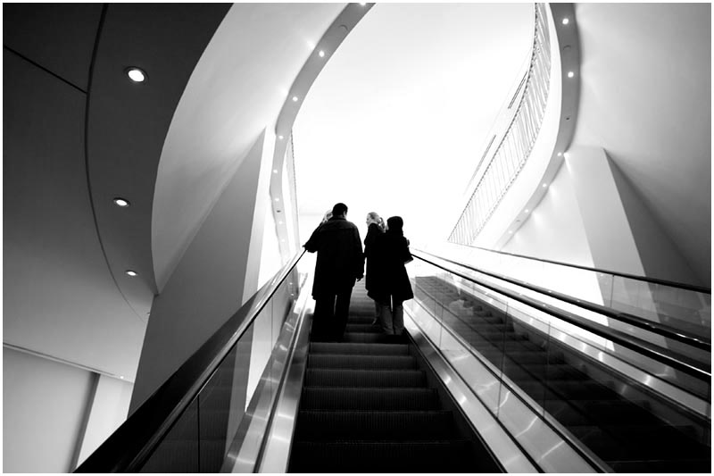 Photo Friday Challenge 21st July 2006: Common<br /> <br /> People on escalators are a common sight in many buildings.