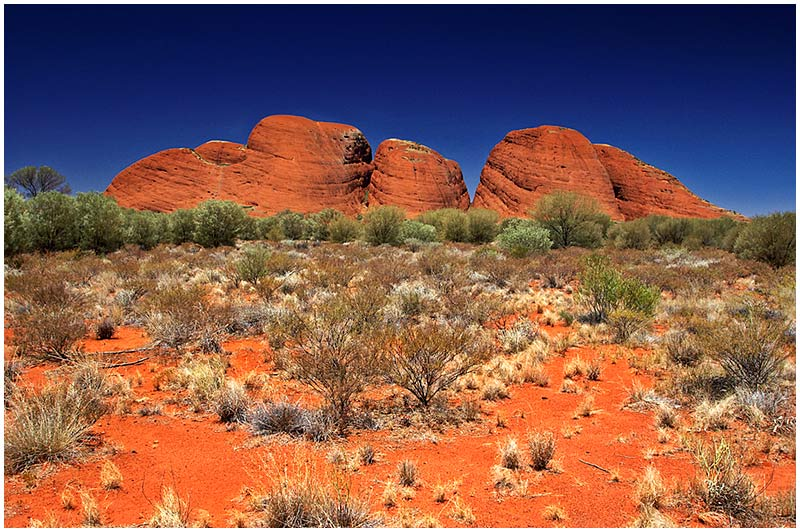 Photo Friday Challenge 20th April: The Country.<br /> <br /> Kata Tjuta, at the red centre of Australia.