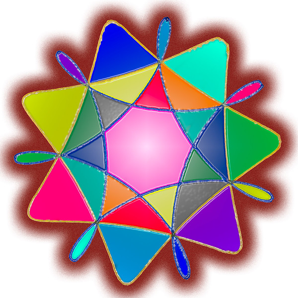 Spirograph and Photoshop
