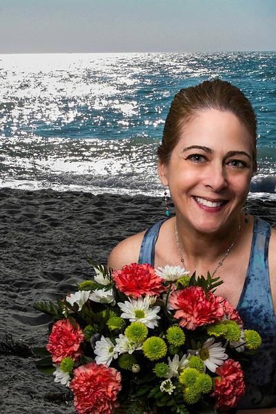 Beach & Flowers