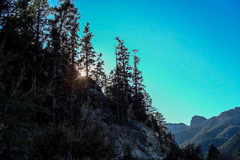 Mount Charleston ridge