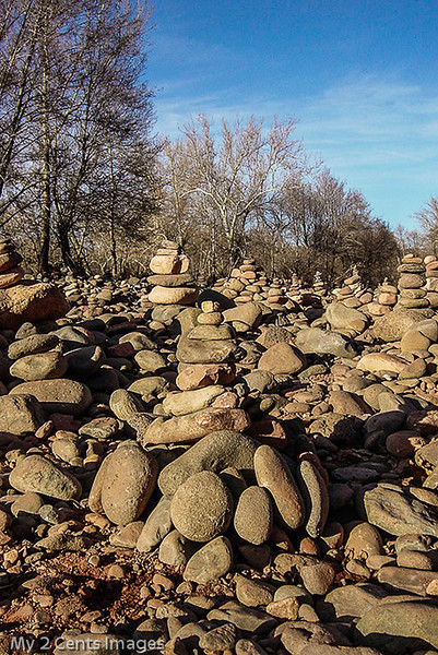 Stacks of Rocks