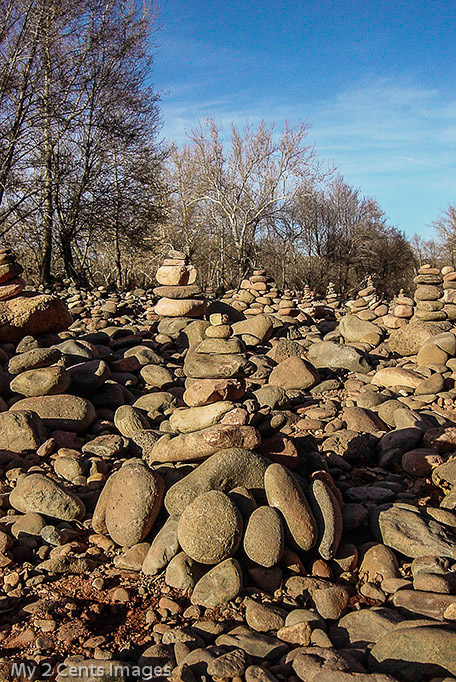 Stacks of Rocks
