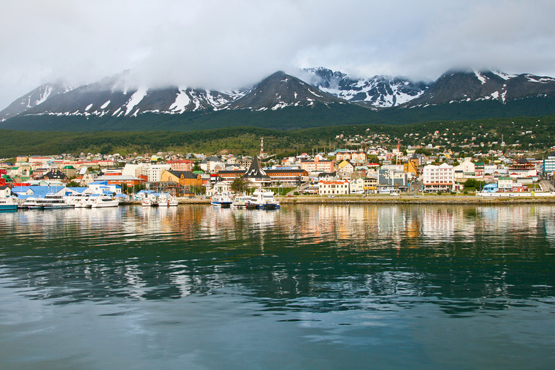 Ushuaia, Argentina, southern most city in the world