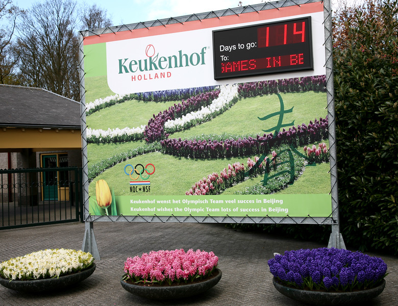 First stop. Keukenhof Gardens to see 7+ million tulips!