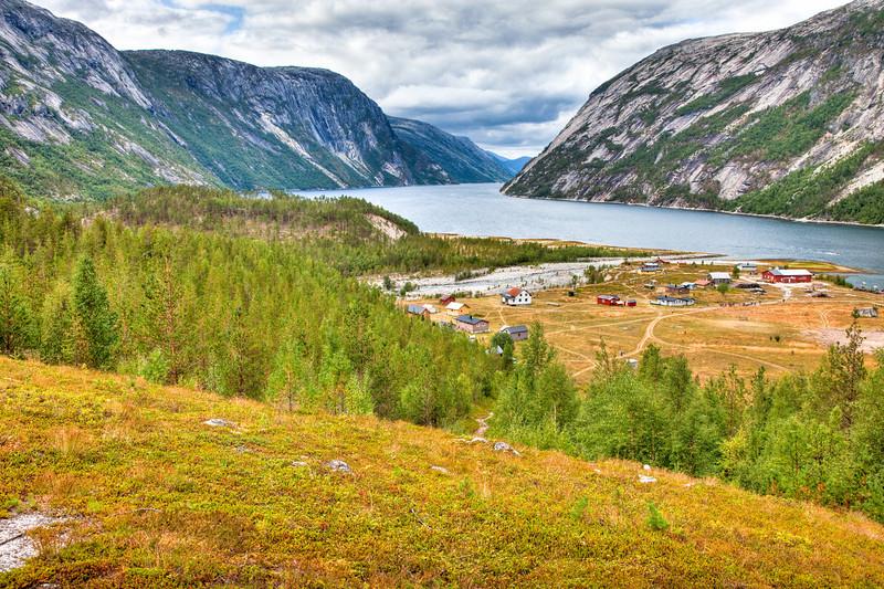 Hellmobotn fjord