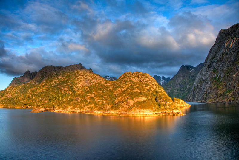 Early morning at Trollfjord