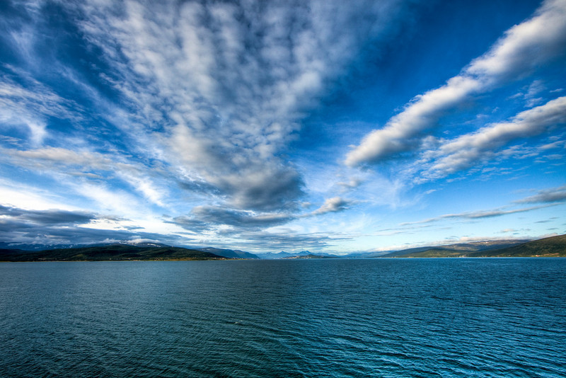 Approaching Tromso