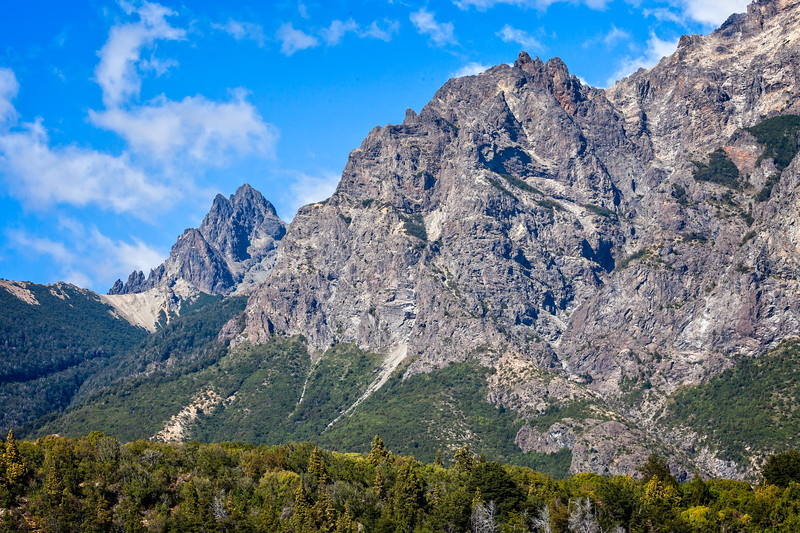 Andes mountains near Bariloche
