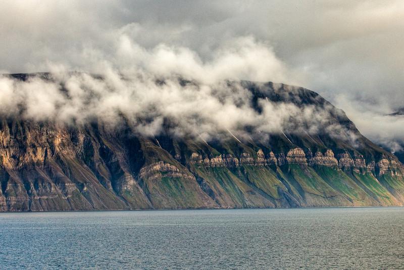 Scenery near Longyearbyen, Svalbard.