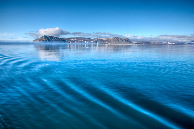The island of Edgeoya, Svalbard.