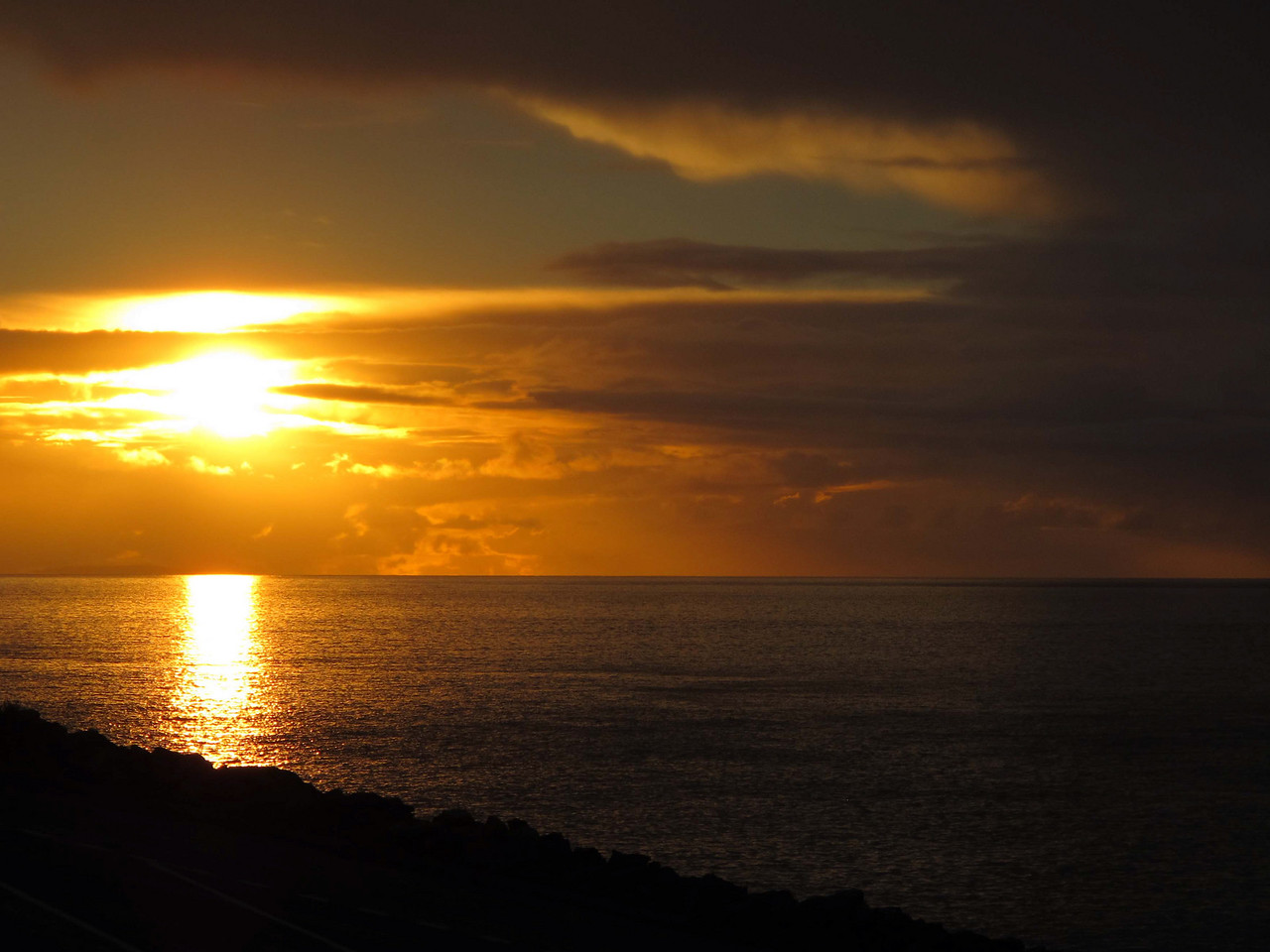 Final sunset at Kangaroo Island