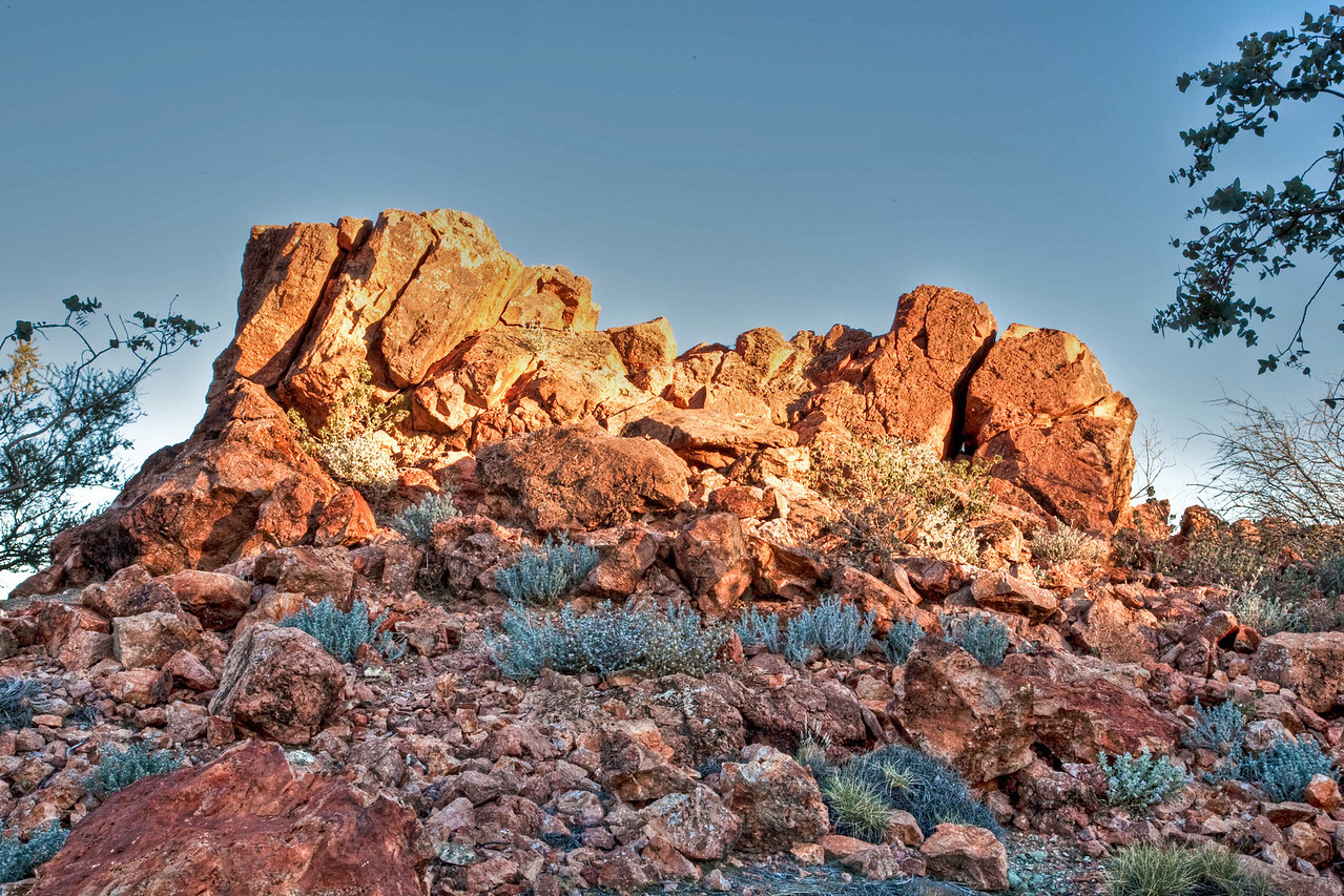 Color at the Pinnacles in Arkaroola
