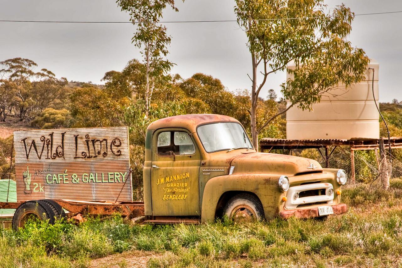 Outside Blinman, South Australia