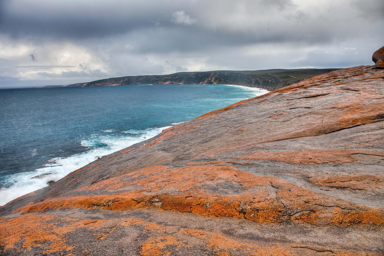 View from Remarkable Rocks on Kangaroo Island