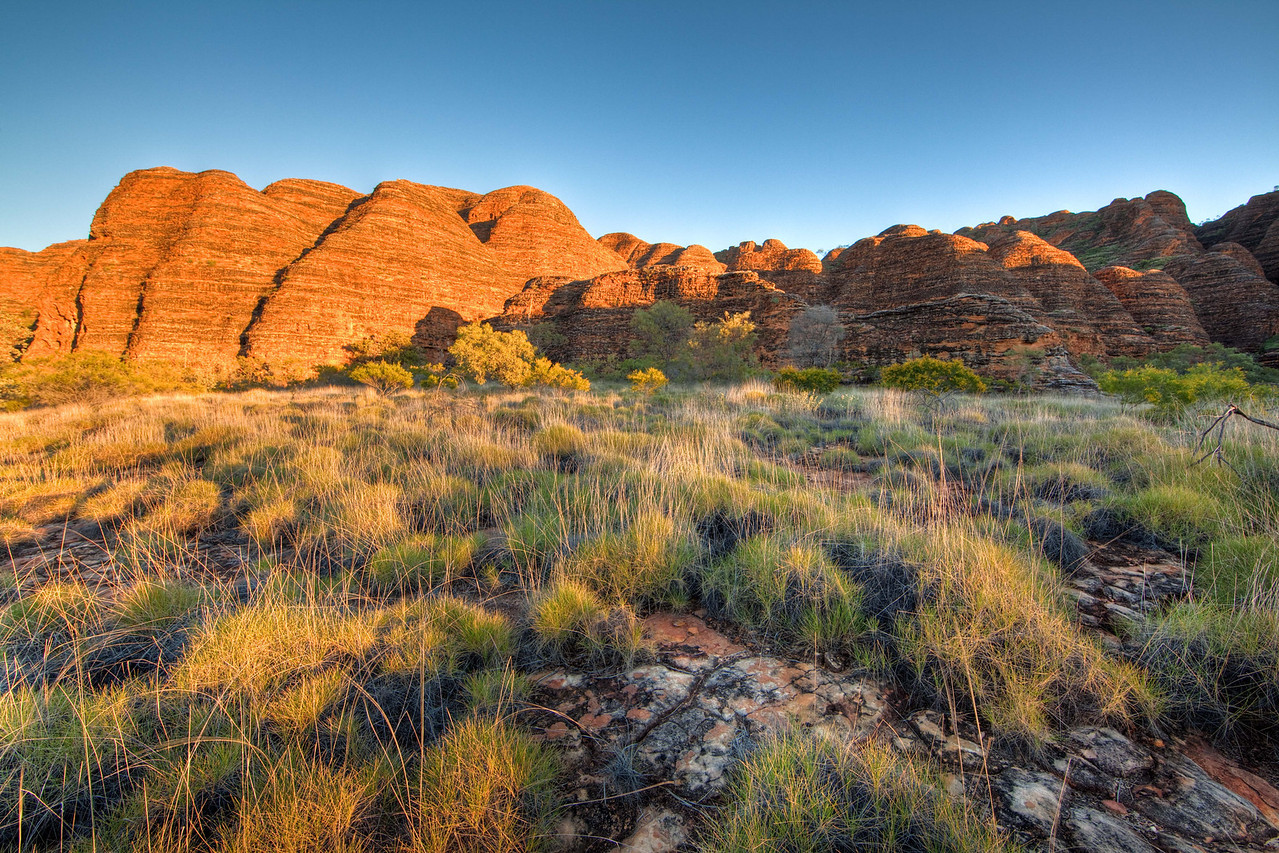 Sunrise in the Bungles, Western Australia