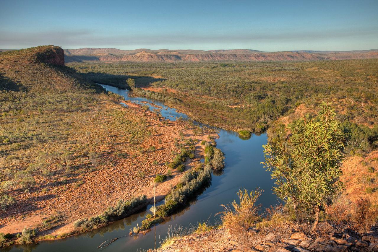 Lookout view in El Questro in the Kimberley