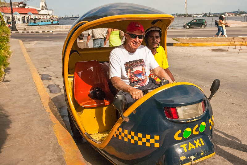 These Coco taxis were popular and used very little gas.