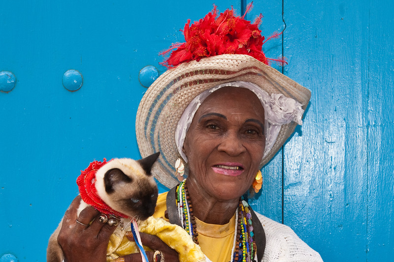 We walked through the old city of Havana and met some interesting street people.