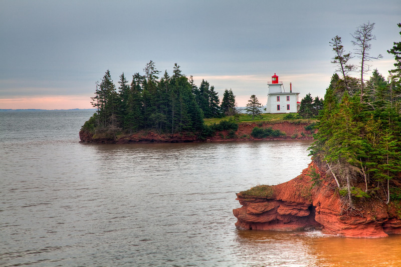 Lighthouse at Rocky Point