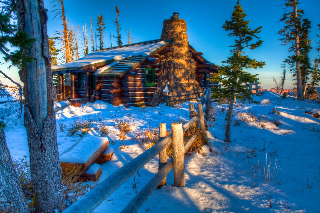 Closed for the season, Cedar Breaks National Monument