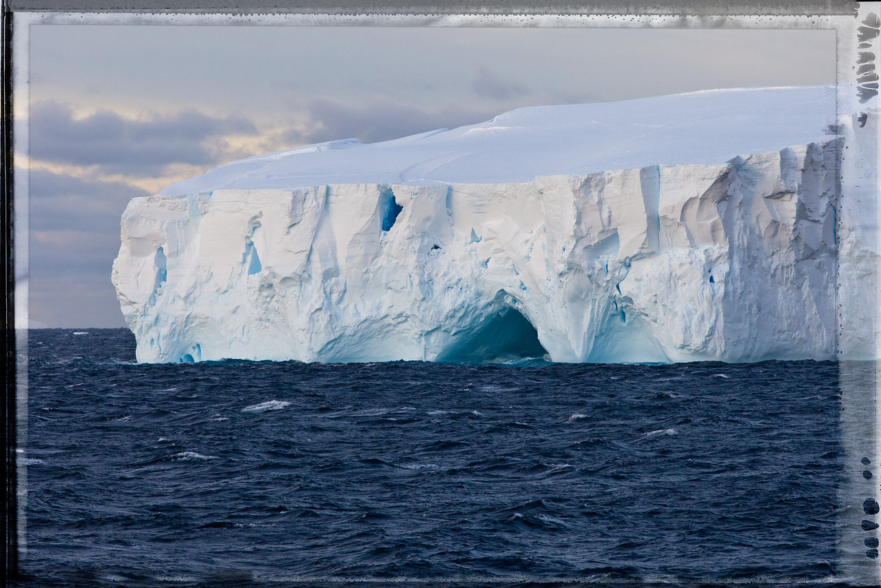 We were mesmerized by the icebergs we saw as we approached Antarctica.