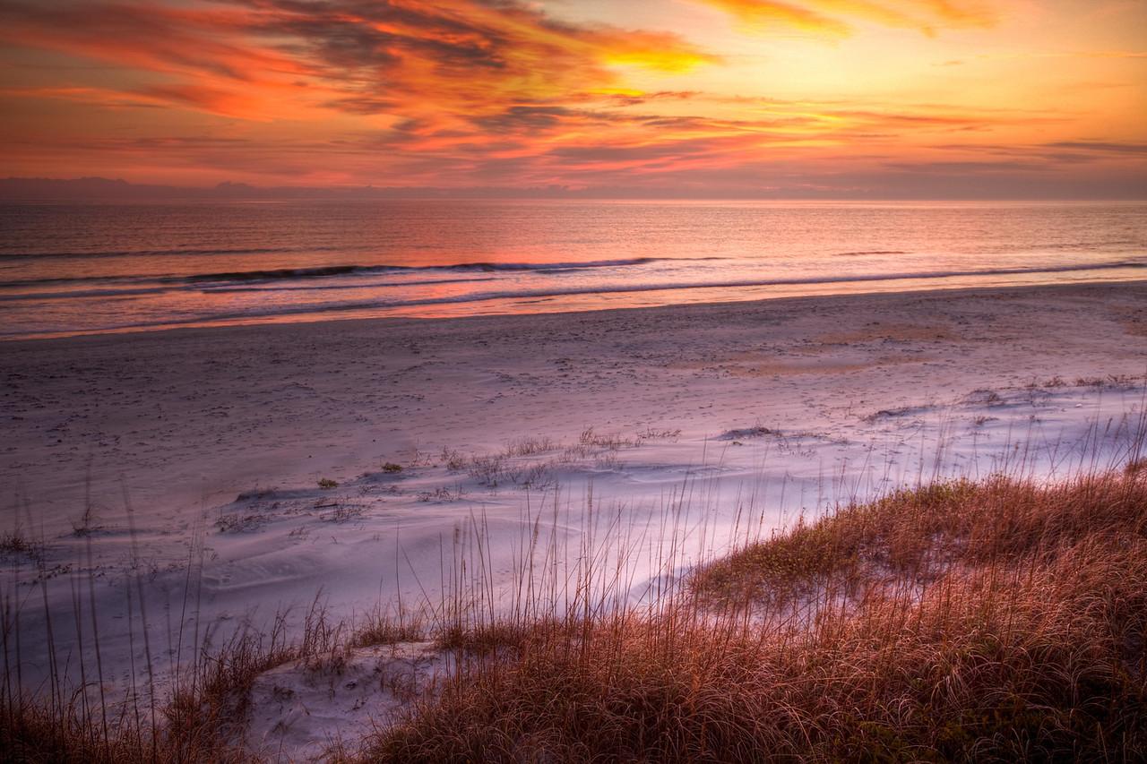 A dunes sunrise