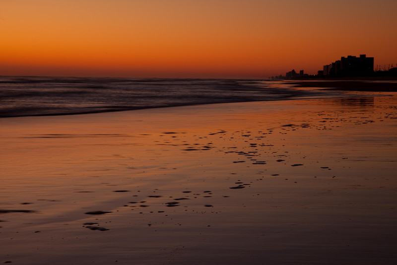 Pre-dawn at Ormond Beach