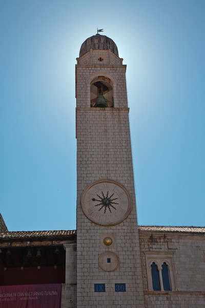 Bell tower in Dubrovnik's old city