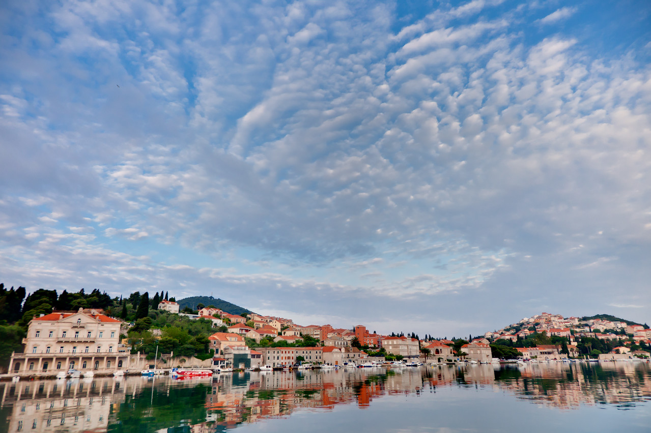 "The ""new city"" of Dubrovnik, Croatia"