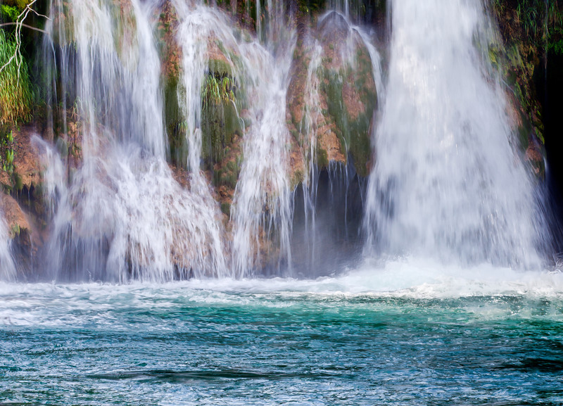 Waterfalls of Krka National Park, near Sibenik, Croatia