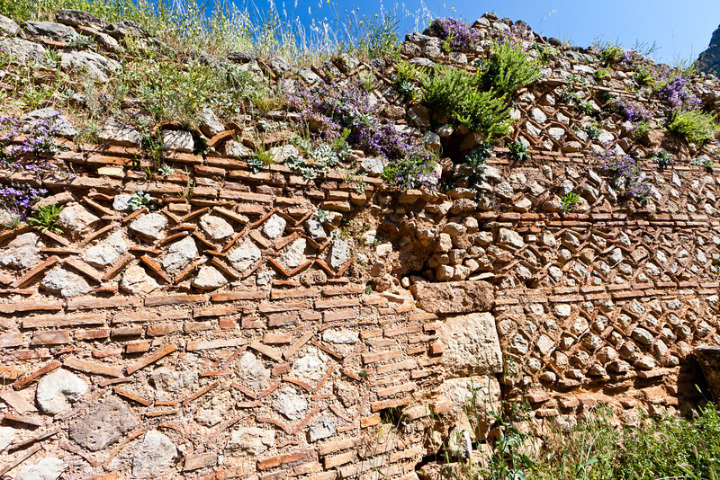 Ancient wall, Delphi