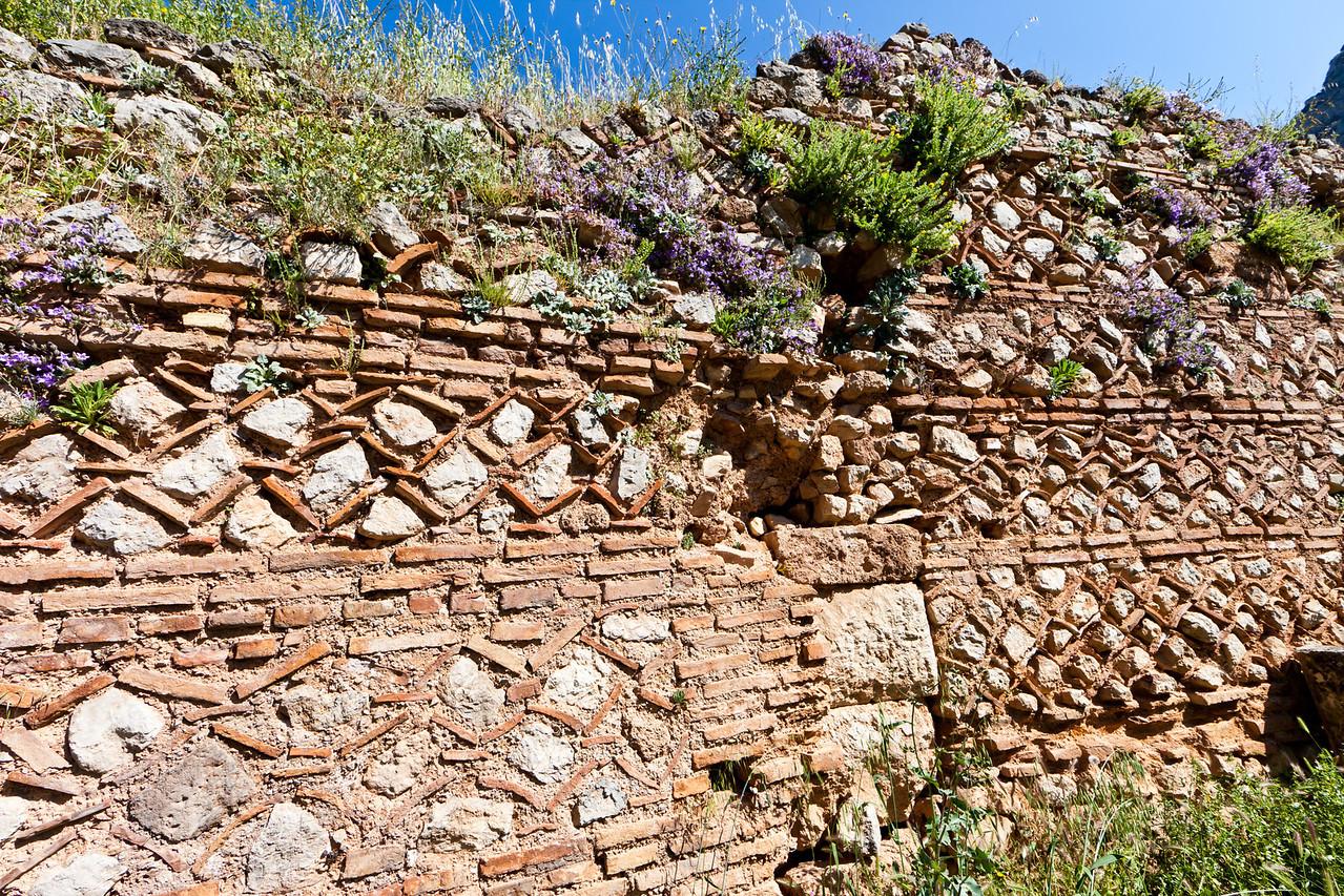 Ancient wall, Delphi