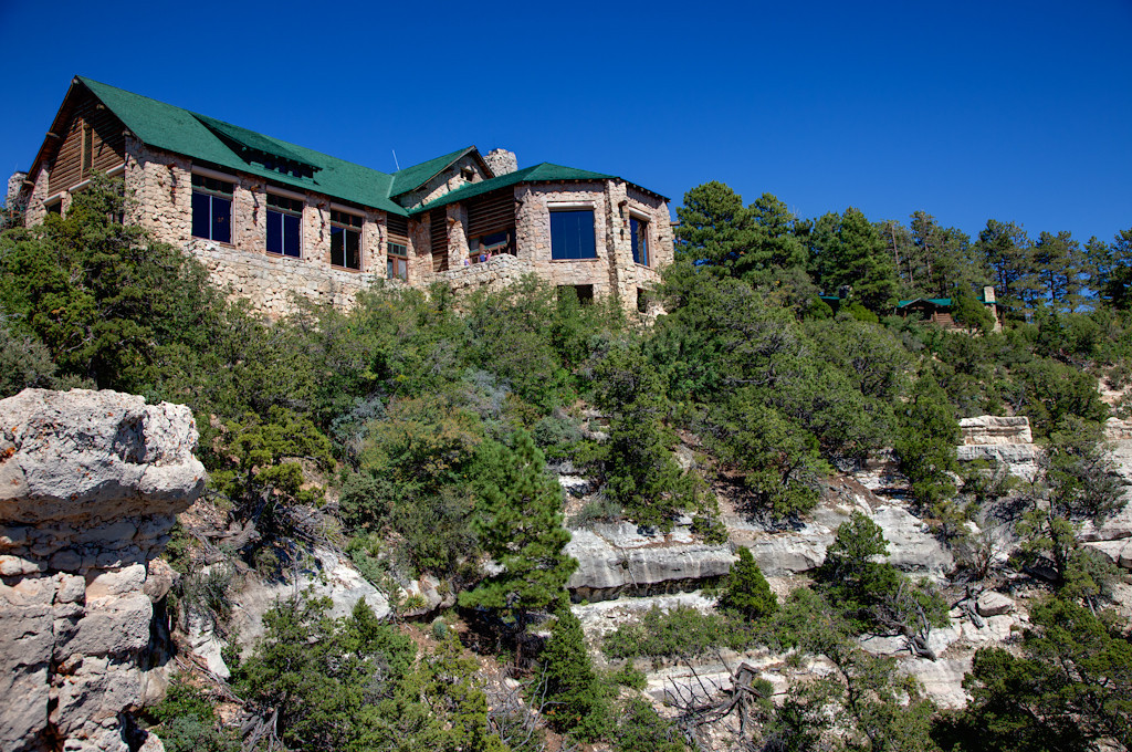 From remote Toroweap we drove to the much more popular Grand Canyon Lodge on the north rim.