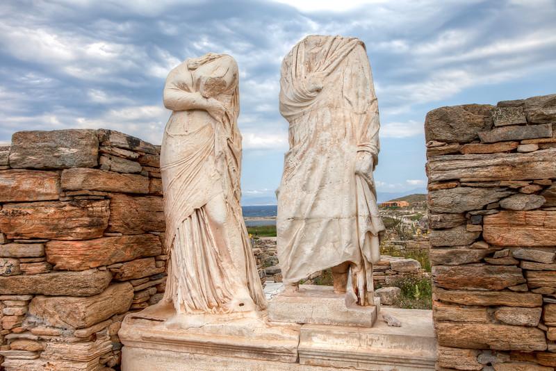 More ruins, Delos