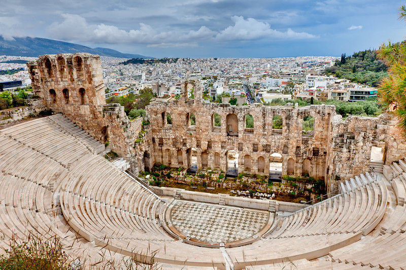 Acropolis stadium theater