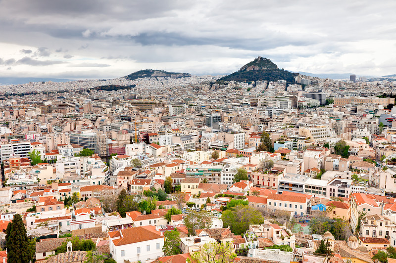 City of Athens from Acropolis