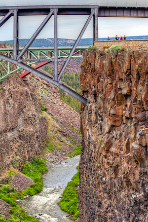 Ogden Viewpoint over the Crooked River, near Bend, Oregon