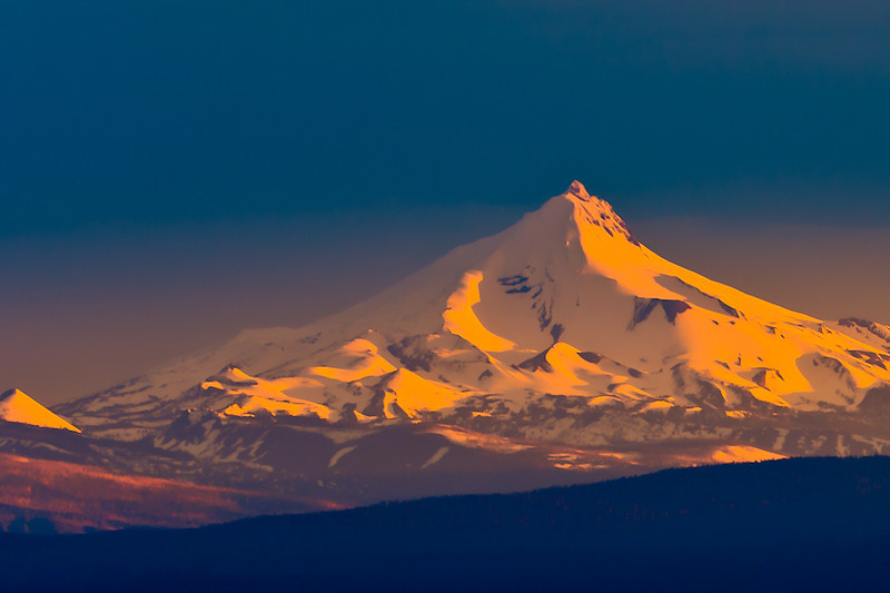 Mt. Hood as seen from Bend, Oregon