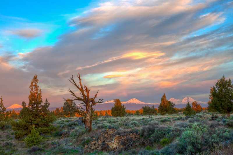 Sunrise in Bend, Oregon