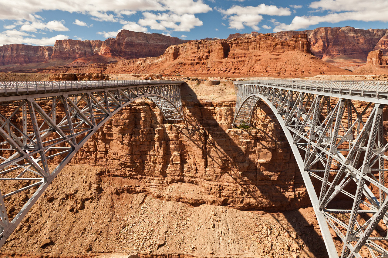 Navajo Bridge crossing the Colorado River